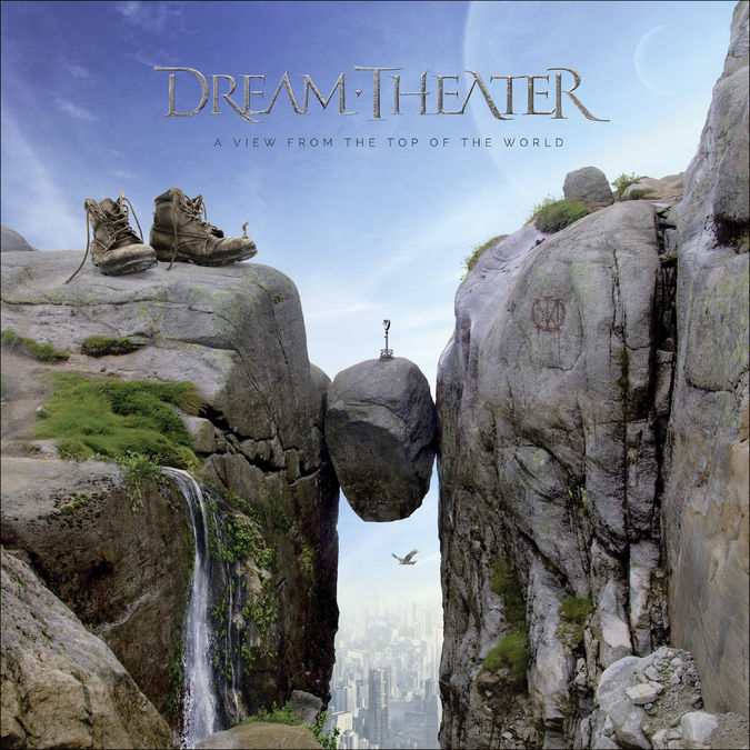 Dream Theater: A View From The Top Of The World: Black Vinyl 2LP + CD + Art Print