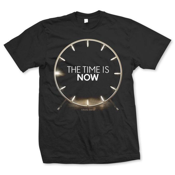 Craig David: The Time is Now Album T-Shirt