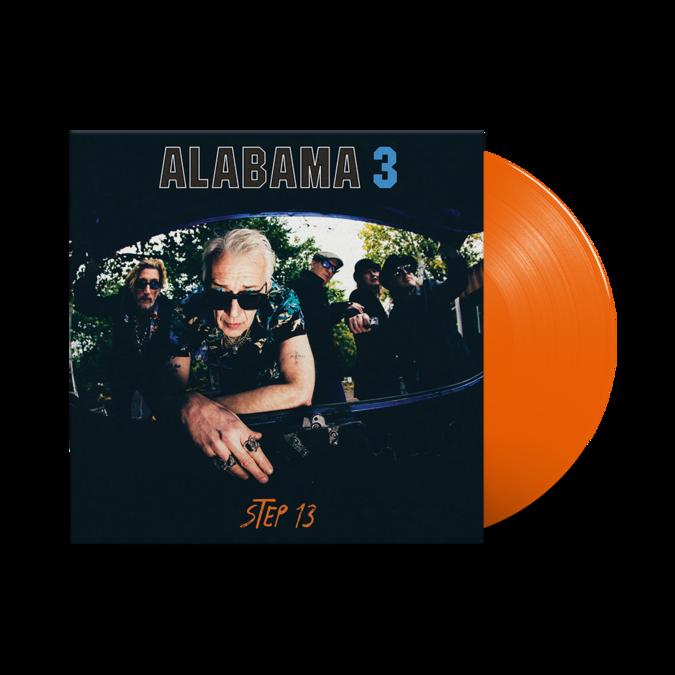 Alabama 3: Step 13: Limited Edition Orange Vinyl LP + Signed Art Print