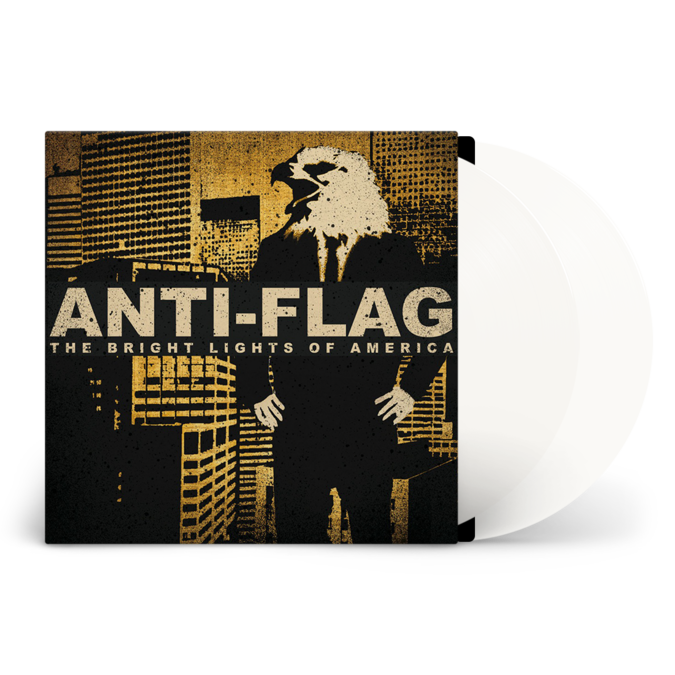 Anti-Flag: The Bright Lights of America: Limited Edition White Vinyl LP