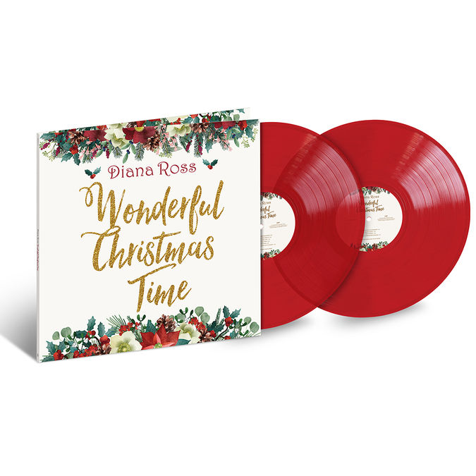 Diana Ross: Wonderful Christmas Time: Exclusive Translucent Red Vinyl