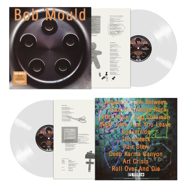 Bob Mould: Bob Mould: Limited Edition Heavyweight Clear Vinyl