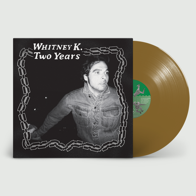 Whitney K: Two Years: recordstore Exclusive Gold Vinyl + Signed Thank-You Card