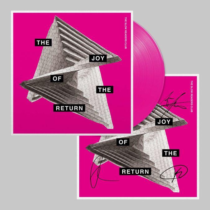 The Slow Readers Club: The Joy of The Return: Magenta Vinyl + Signed Art Print