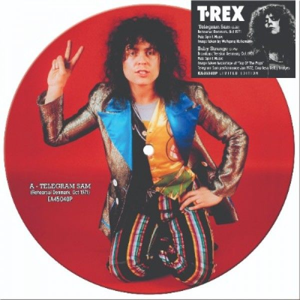 T. Rex: Telegram Sam/ Baby Strange: Limited Edition Picture Disc