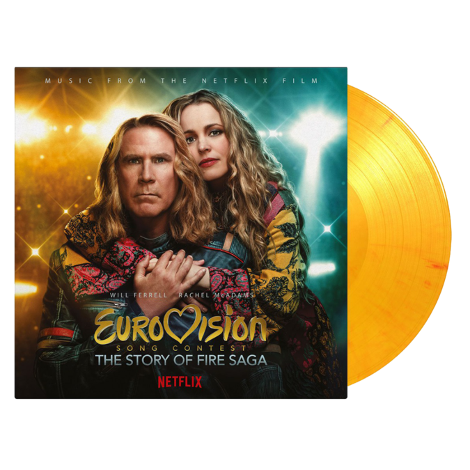 Original Soundtrack: Eurovision Song Contest: The Story of Fire Saga is: Limited Edition Volcano Man Flaming Vinyl