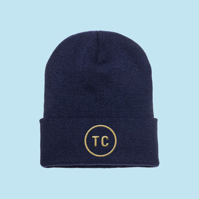 Tom Chaplin: TC Logo Beanie (Navy)