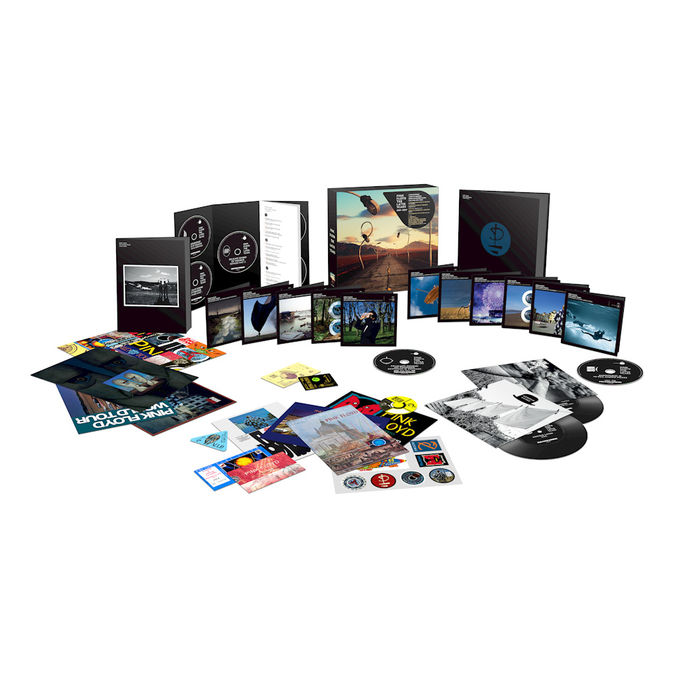 Pink Floyd: The Later Years 1987 - 2019: Deluxe Book Double 7