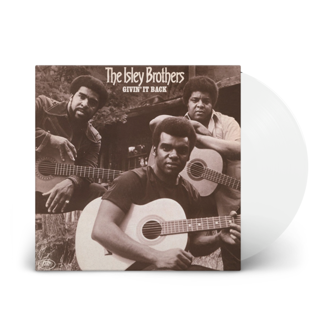 The Isley Brothers: Givin' It Back: Limited Edition Crystal Clear Vinyl