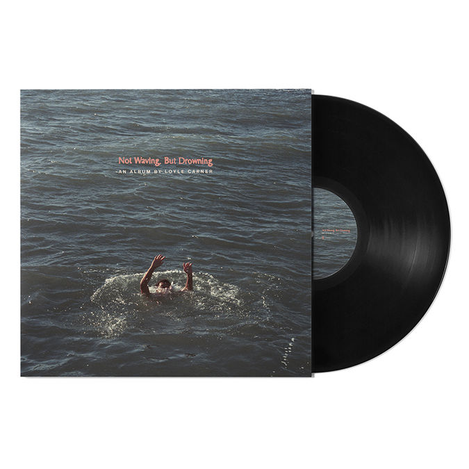 Loyle Carner: Not Waving, But Drowning Signed LP