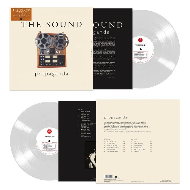 The Sound: Propaganda: Limited Edition Clear Vinyl