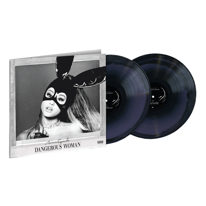 Ariana Grande: Dangerous Woman: exclusive purple + black swirl vinyl 2lp