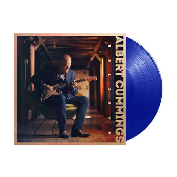 Albert Cummings: Believe: Limited Edition Blue Vinyl