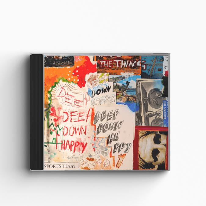 Sports Team: Deep Down Happy: CD