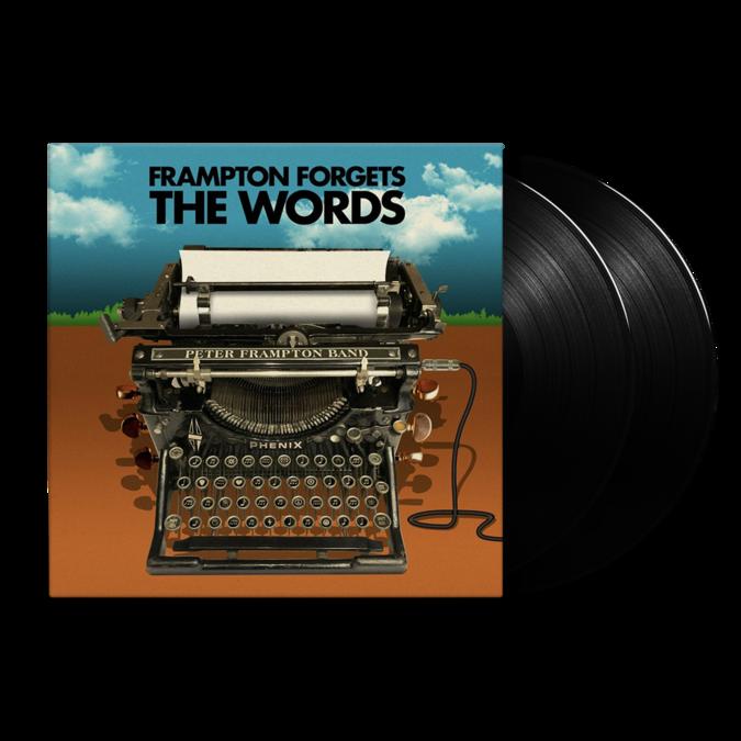 Peter Frampton: Peter Frampton Forgets The Words: Etched Vinyl 2LP