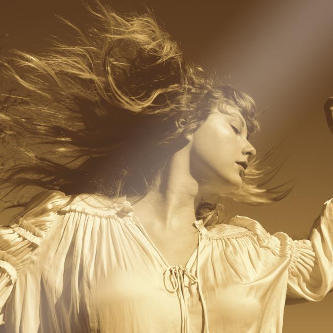 Taylor Swift: Album Cover Metallic Lithograph
