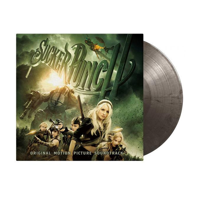 Original Soundtrack: Sucker Punch: Limited Edition Silver & Black Marbled Vinyl