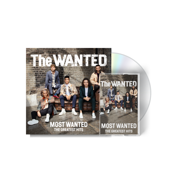 The Wanted: THE MOST WANTED - SIGNED DELUXE CD + CASSETTE