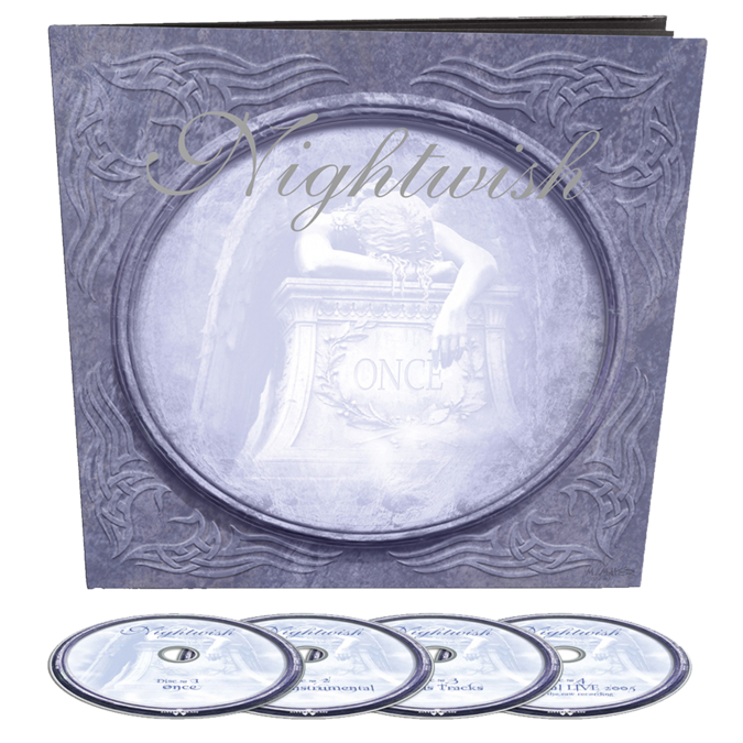 Nightwish: Once (Remastered): 4CD Earbook