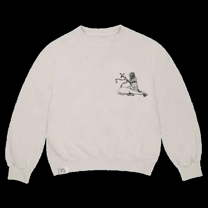 Bob Marley: Embroidered 75 Crew Sweatshirt  S