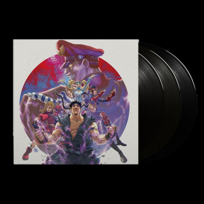 Capcom Sound Team: Street Fighter Alpha 3 (Original Soundtrack): Black Vinyl 3LP