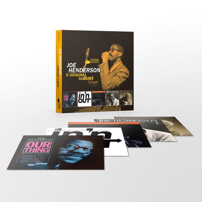 Joe Henderson: 5 Original Albums