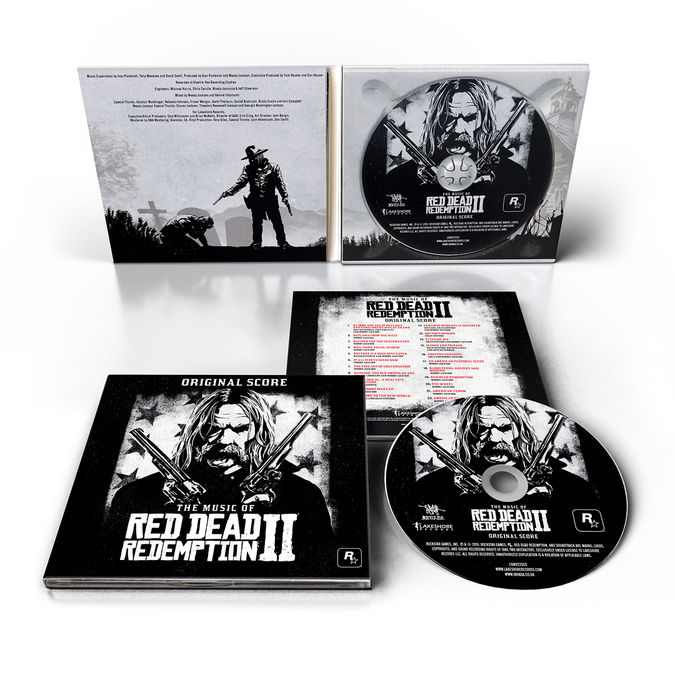 Various Artists: The Music Of Red Dead Redemption 2 (Original Score): Limited Edition Digipack CD