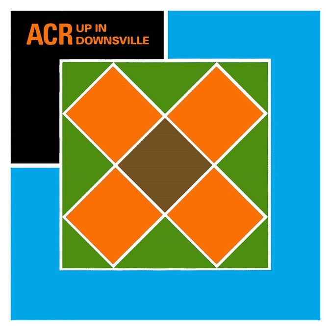 A Certain Ratio: Up In Downsville: Light Blue Vinyl