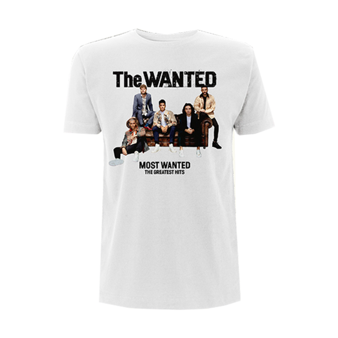The Wanted: THE MOST WANTED COVER TEE (WHITE)