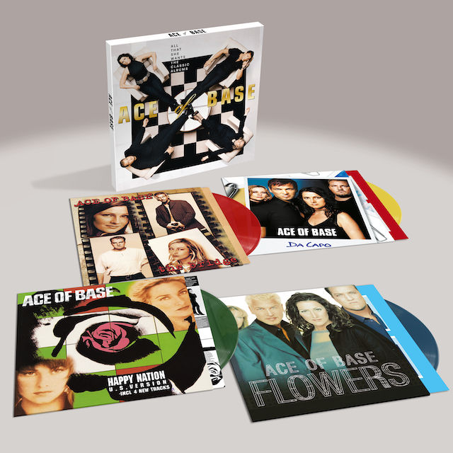 Ace Of Base: All That She Wants: Limited Edition Coloured Vinyl Box Set