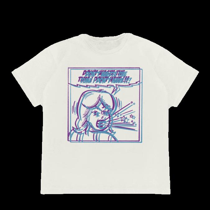 Billie Eilish: No Time White T-shirt