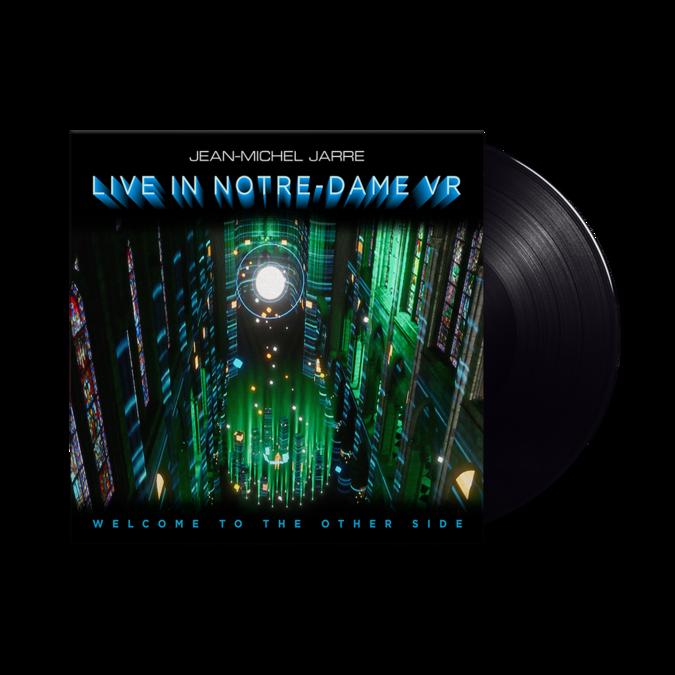 Jean-Michel Jarre: WELCOME TO THE OTHER SIDE: Live In Notre Dame VR: Black Vinyl LP
