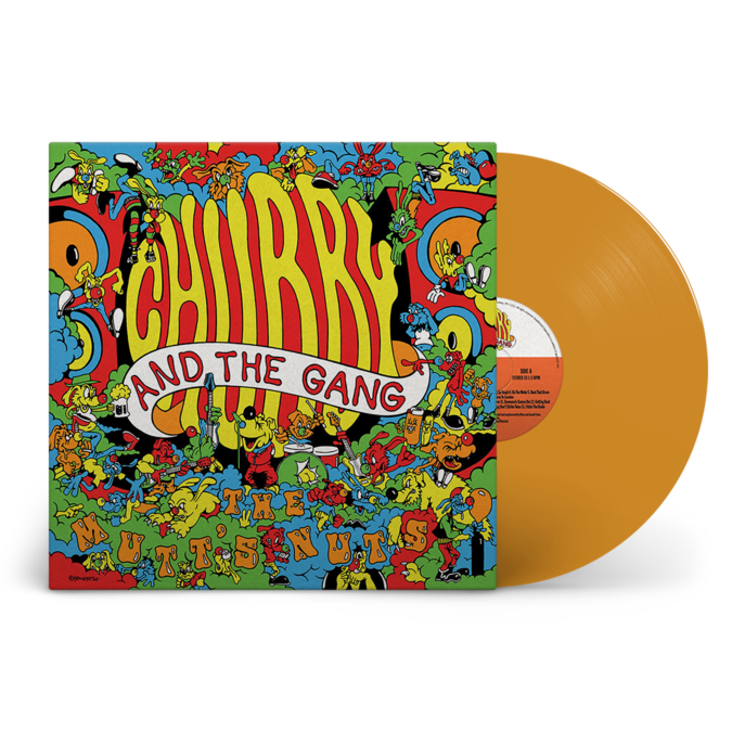 Chubby and the Gang: The Mutt's Nuts: Limited Edition Orange Vinyl LP + Signed Print