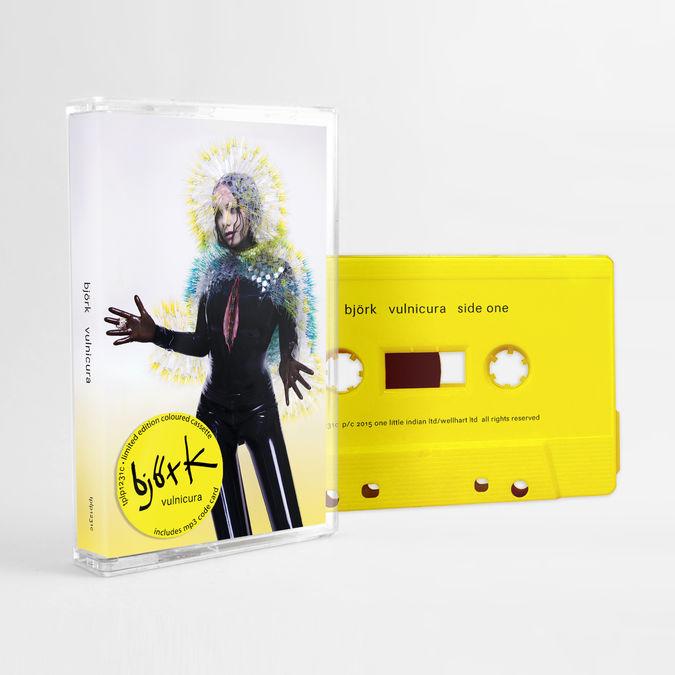 Björk: Vulnicura: Limited Edition Yellow Cassette