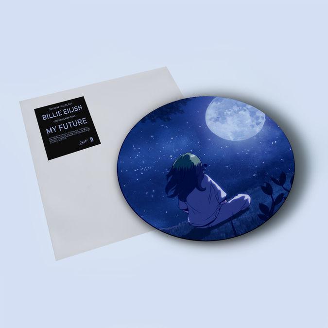 "Billie Eilish: my future 7"" Picture Disc"