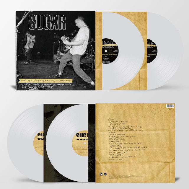 Sugar: The Joke Is Always On Us: Limited Edition Heavyweight Clear Vinyl