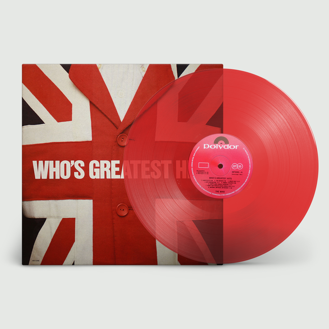 The Who: Who's Greatest Hits: Limited Edition Clear Red Vinyl