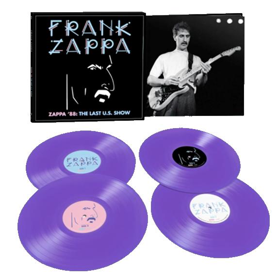 Frank Zappa: Zappa '88: The Last U.S. Show: Exclusive Opaque Purple Vinyl 4LP Set