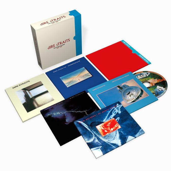 Dire Straits: The Studio Albums 1978 - 1991: 6CD Box Set