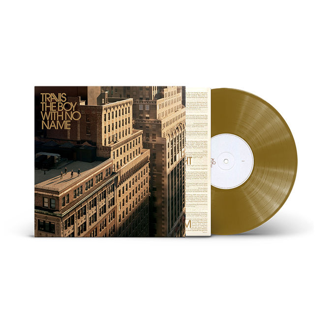 Travis: The Boy With No Name: Limited Edition Gold Vinyl LP + 7