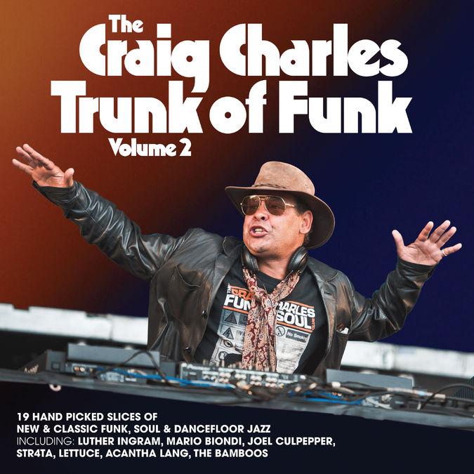 Craig Charles: The Craig Charles Trunk Of Funk Vol. 2: Black Vinyl 2LP + Signed Art Print