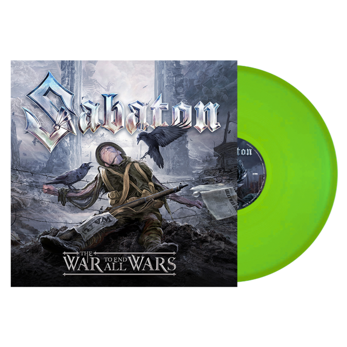 Sabaton: The War To End All Wars: Limited Edition Fluorescent Green Vinyl