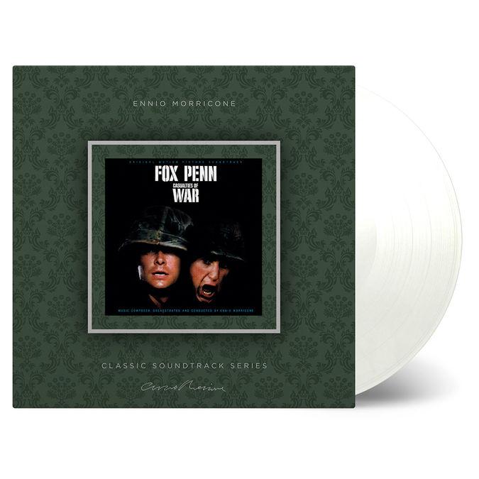 Ennio Morricone: Casualties Of War: Clear Vinyl