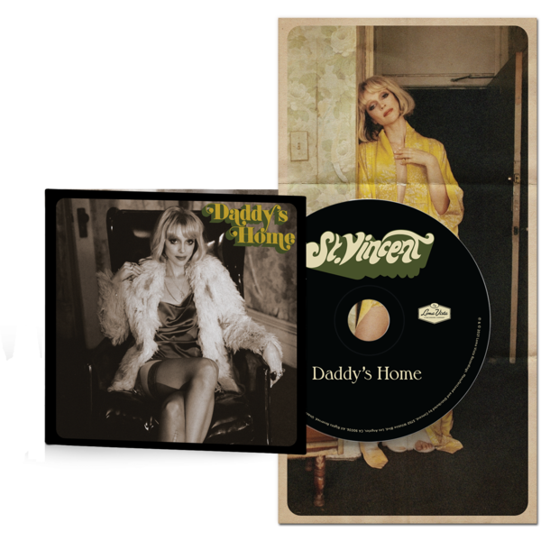 St. Vincent: Daddy's Home: Soft-pack CD + Poster
