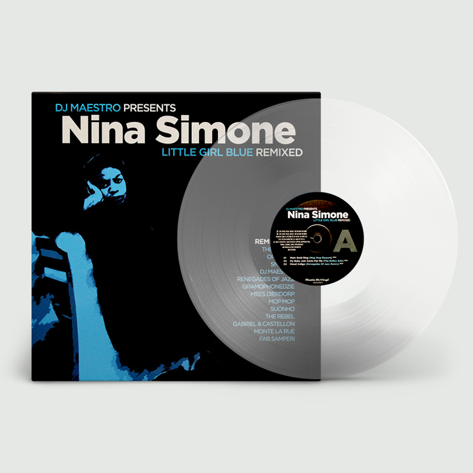 Nina Simone: Little Girl Blue Remixed: Limited Edition Transparent Vinyl