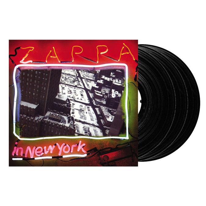 Frank Zappa: Zappa In New York – 40th Anniversary - Triple Vinyl
