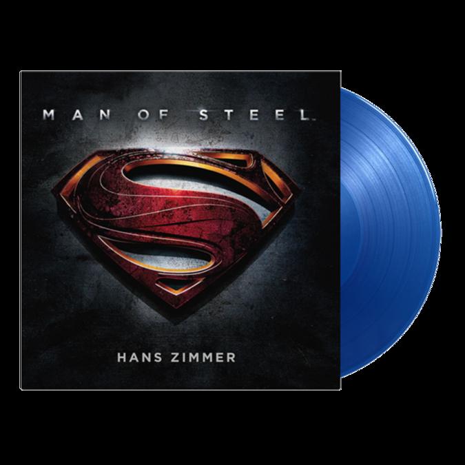 Original Soundtrack: Man Of Steel Original Soundtrack: Limited Edition Blue Vinyl