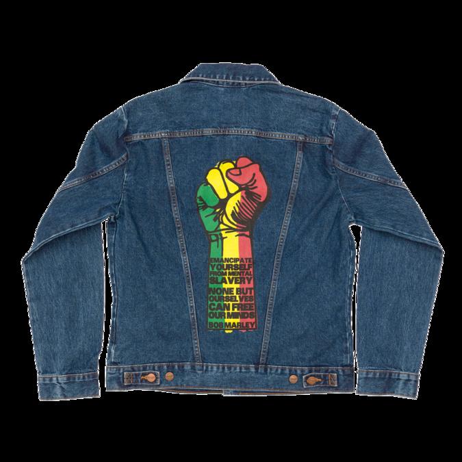Bob Marley: Fist Denim Jacket