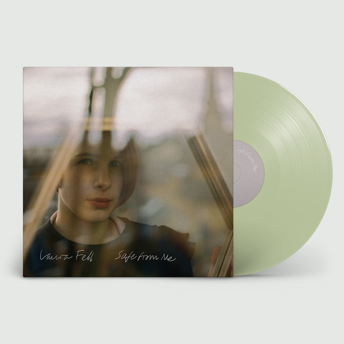 Laura Fell: Safe From Me: Signed Exclusive Seafoam Green Vinyl