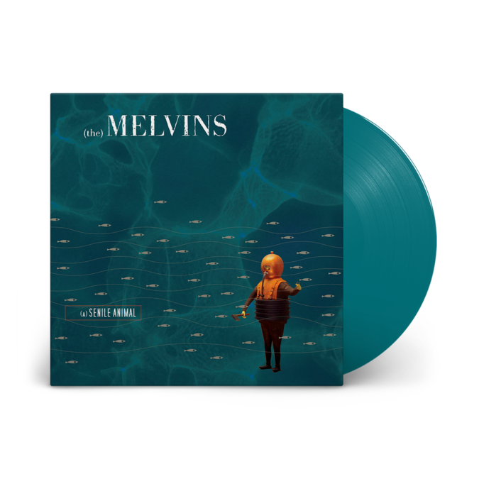Melvins: (A) Senile Animal: Limited Edition Sea Blue Vinyl 2LP
